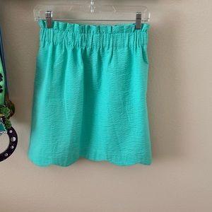 Lauren James Seafoam Paperbag Skirt
